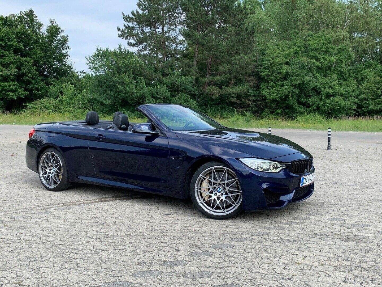 BMW M4 3,0 Cabriolet Competition aut. 2d - 6.985 kr.