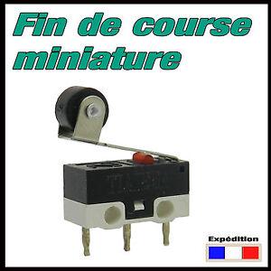 904G# Fin de course miniature à galet micro switch robotique, domotique, arduino