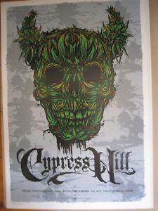 CYPRESS-HILL-MELBOURNE-08-CONCERT-POSTER-ART-KEN-TAYLOR