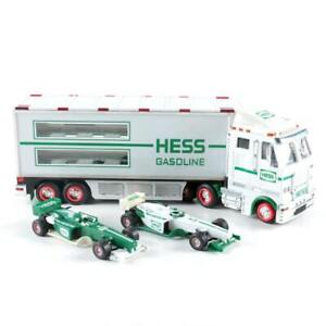Mint 2003 Hess Toy Truck And Race Cars New In Box Ebay