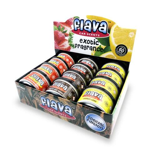 Flava Car ScentsExotic /& Fresh Fragrance Lasting 60 Days NEW
