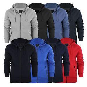 Mens-Hoodie-Smith-amp-Jones-Zip-Up-Hooded-Sweater-Jumper