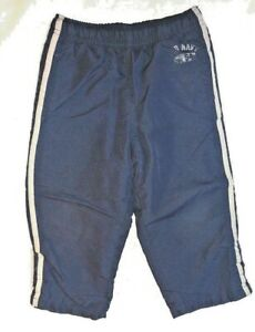 Old Navy Fleece Lined Blue Athletic Pants Elastic Waist Size 3T