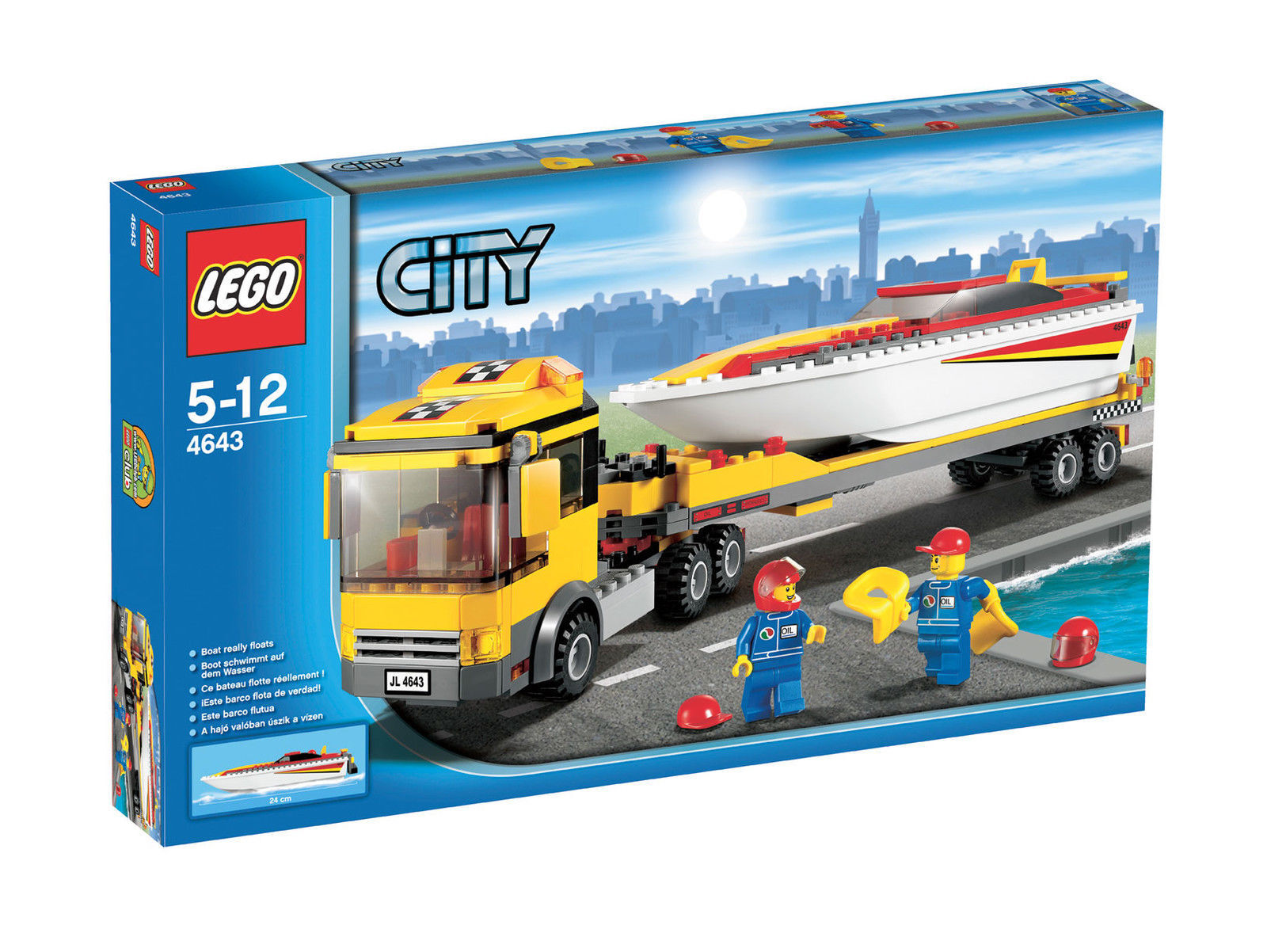LEGO City PowerStiefel Transporter (4643)