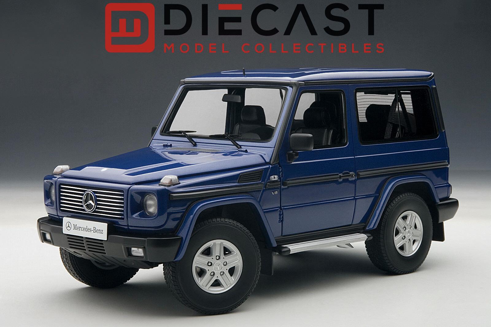 AUTOART 76114 Mercedes Benz G500 1998 Swb, bleu 1 18TH échelle