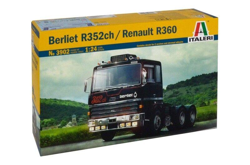 ITALERI 1/24 Berliet R352ch / RENAULT R360  3902