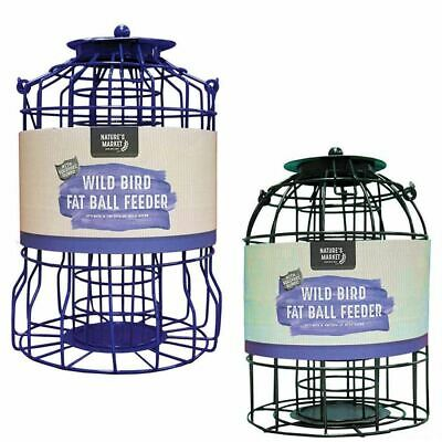 Kingfisher Hanging Wild Bird Seed Feeder Squirrel Pest Resistant Metal Cage