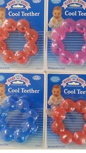 BABY TEETHING TEETHER RING-BPA SAFE Refrigerate to cool FRUIT RING ... 3aca03fac