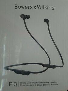 Auriculares inalámbricos Wilkins PI3 Bowers & con micrófono gris