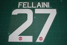 Manchester United 15/16 #27 FELLAINI UEFA / FA Cup HomeKit Nameset Printing