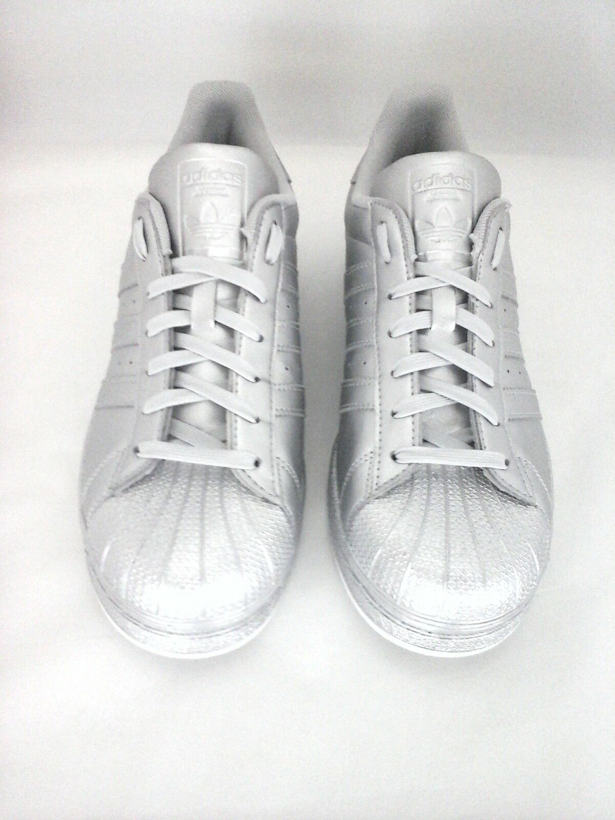 ADIDAS ORIGINALS SUPERSTAR Clamshell Metallic RARE Schuhes Damenschuhe SILVER Metallic Clamshell BB8139 ba8b89