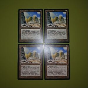 Walking Wall x4 - Ice Age - Magic the Gathering MTG 4x Playset