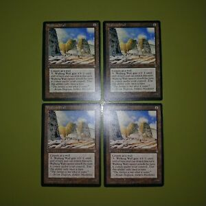 Walking-Wall-x4-Ice-Age-Magic-the-Gathering-MTG-4x-Playset