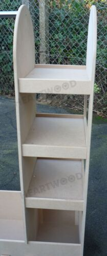 DRESSING UP STAND 1000mm WITH OVAL MIRROR//HANGING RAIL//BOOKCASE//7 FREE LETTERS