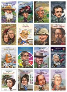 NEW Who Was Creative Minds Set Lot 19 Books Biographies Pack Disney Mozart Twain