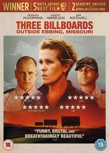 2018 Three Billboards Outside Ebbing Missouri DVD