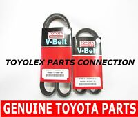Toyota Lexus V6 Full Factory 100% Genuine Drive Belt Set