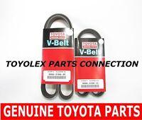 Toyota Lexus V6 Full Factory 100% Genuine Drive Belt Set