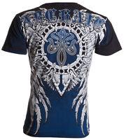 Archaic AFFLICTION Men T-Shirt DISAVOW Wing Tattoo Fight Biker MMA UFC M-4XL $40