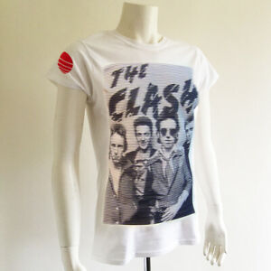 Da-DONNA-THE-CLASH-T-shirt-POST-PUNK-ROCK-BAND-MUSICA-70s-Retro-Indie-Alternative