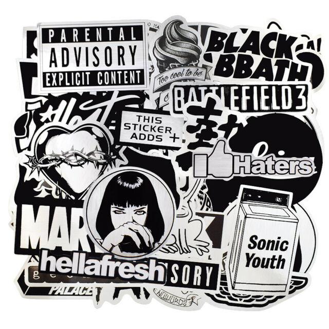 Andralyn 50pcs Lot Metallic Color Black