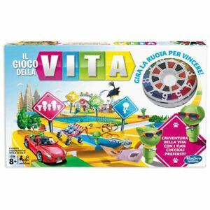 Il-Gioco-Della-Vita-gioco-da-tavolo-di-societa-gioco-avventura-in-scatola-Hasbro