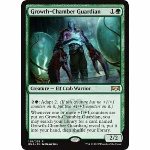 4x Growth-Chamber Guardian Near Mint Magic legacy cube Ravnica Allegiance RNA