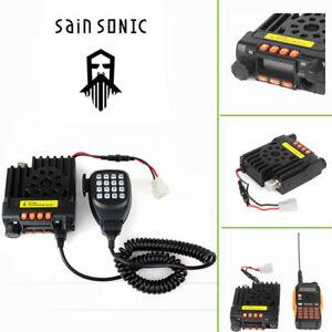 EU-DHL-Sainsonic-Mini-GT-890-VHF-UHF-Car-Radio-Transceptor-Dual-Band-25W-200CH
