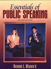 Essentials of Public Speaking (2nd Edition)