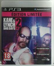 Kane & Lynch 2. Dog Days. Edition Limitee. Ps3. Fisico.