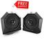 "MTX RZRPOD65 Polaris RZR Dash Mount All-Weather 6.5/"" Speaker Pods FREE SHIPPING"