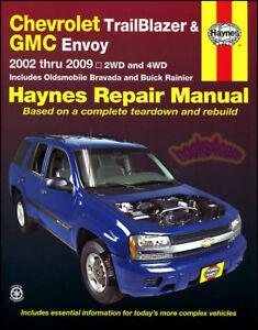 bravada shop manual service repair oldsmobile haynes book 2004 2003 rh ebay com 2004 chevy trailblazer owners manual 2004 chevrolet trailblazer owners manual