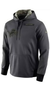 NWT Nike Detroit Lions Hoodie Pullover Youth Medium 10 12  70 Salute ... 440ed2ea1
