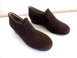 374429f9195 ... chaussures-SCHOLL-pointure-39-daim-marron-excellent-etat