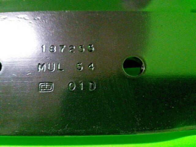 "Husqvarna Craftsman Genuine OEM 532187255 54/"" Mower Mulch Blades 187255 SET OF 6"