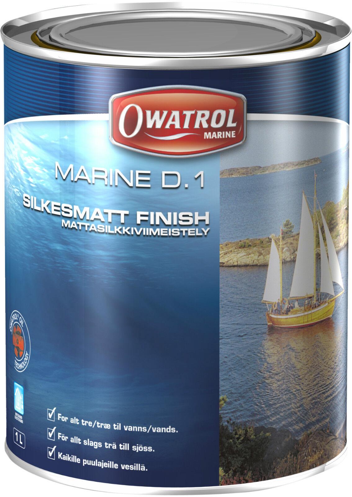 OWATROL Marine D1 Decksöl 2 5 Liter-Dose Tiefenimptägnierung Holzschutz Lack