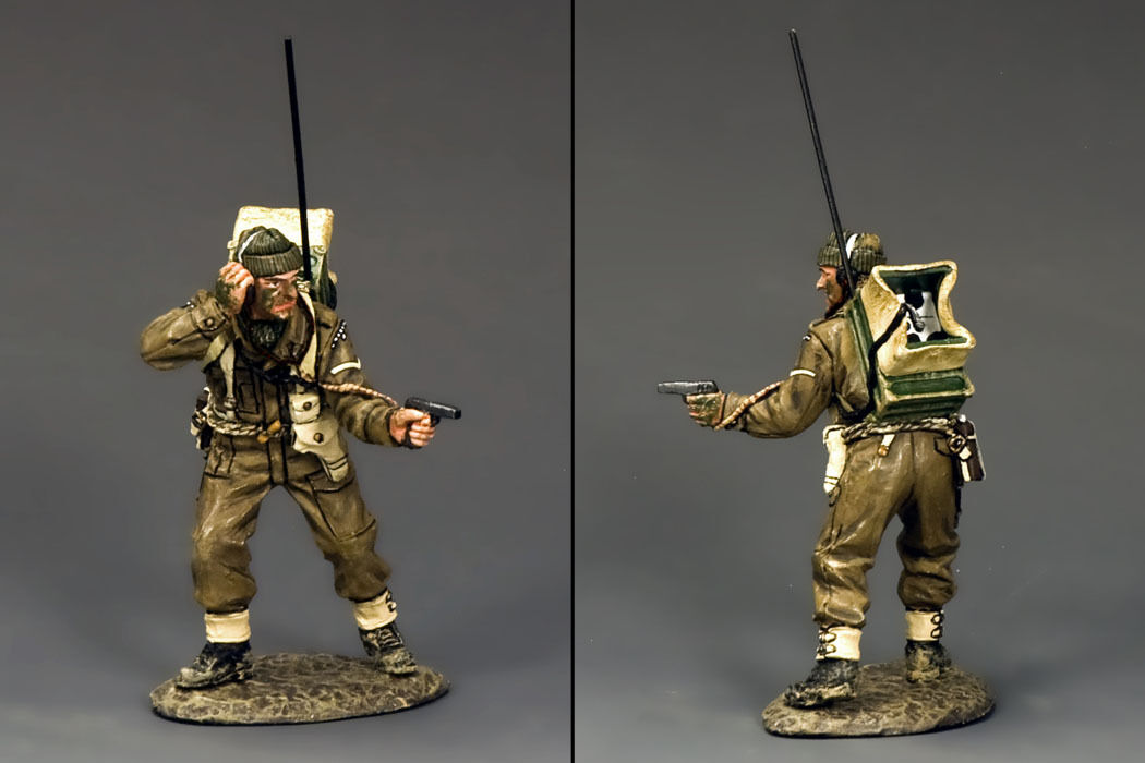 KING AND COUNTRY WW2 British Commando Radio Operator D Day DD195