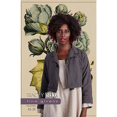 "TINA GIVENS ""TRACEY JACKET"" Sewing Pattern"
