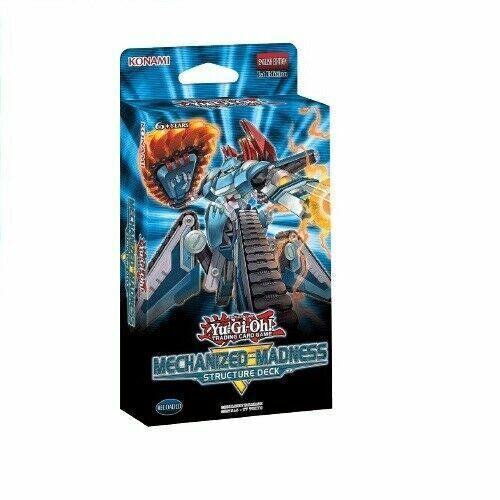 Mechanized Madness 1x Structure Deck Deutsch 1 Yu-Gi-Oh Auflage Neu /& OVP