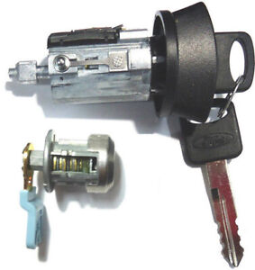 Details about Ford Ignition Switch Lock Cylinder + Driver Door Lock  Cylinder W/2 Logo Keys