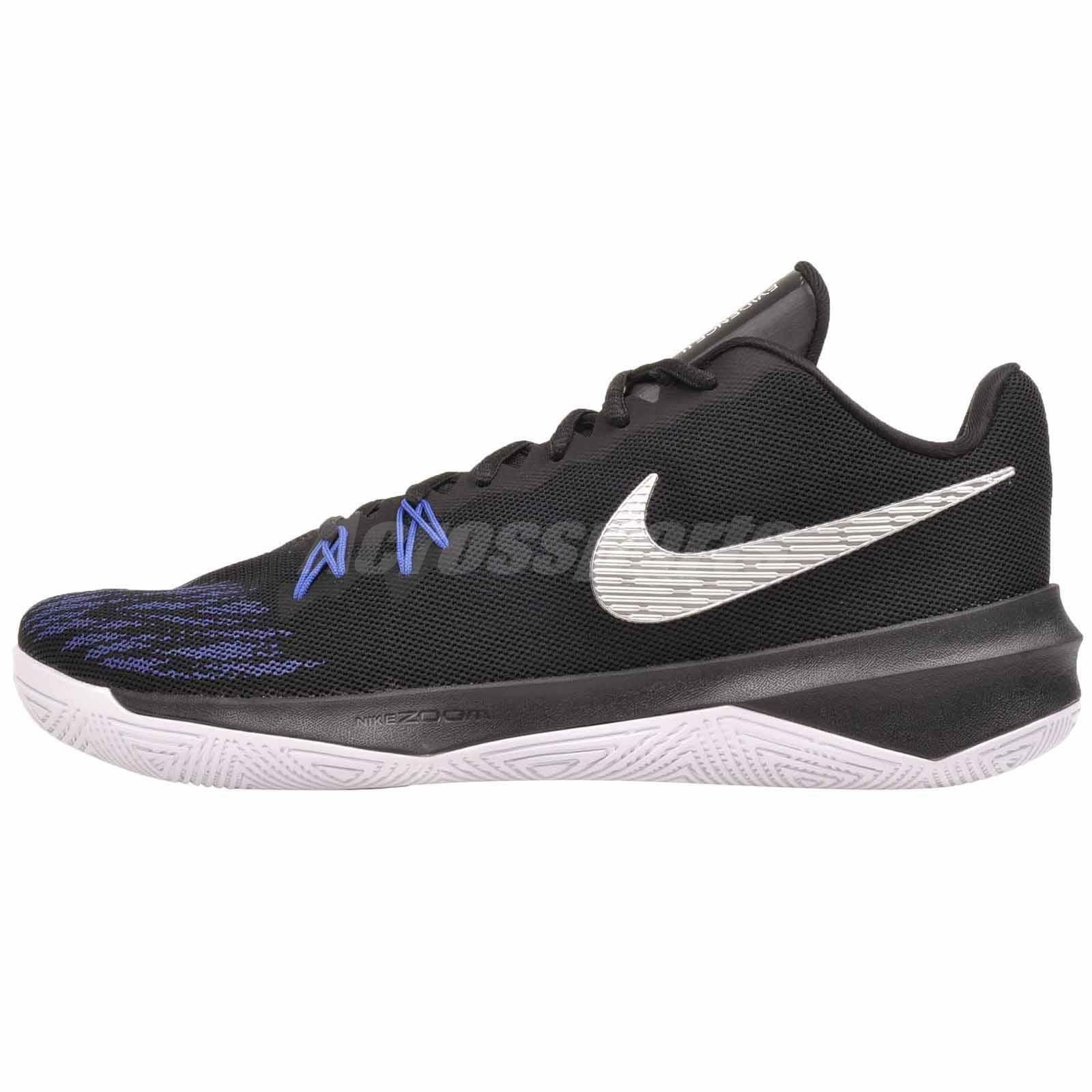 Nike Zoom Evidence II 2 Basketball Mens shoes Black Silver 908976-004