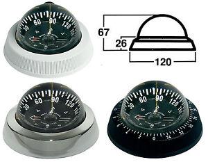 Garmin-Silva-Racing-Kompass-Garmin-85-85E-Regatta-Kompass-weiss-schwarz-chrom