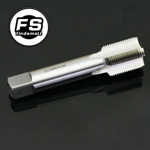 33mm x 2 HSS Metric Right hand Thread Tap M33 x 2.0mm Pitch Threading Tapping