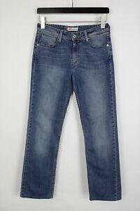 LEVI STRAUSS & CO. 627 STRAIGHT FIT Women's W28 L30 Blue Faded Jeans 36015-GS