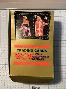 WCW: 1991 Championship Marketing Wrestling Trading Cards Box 34 Sealed Packs