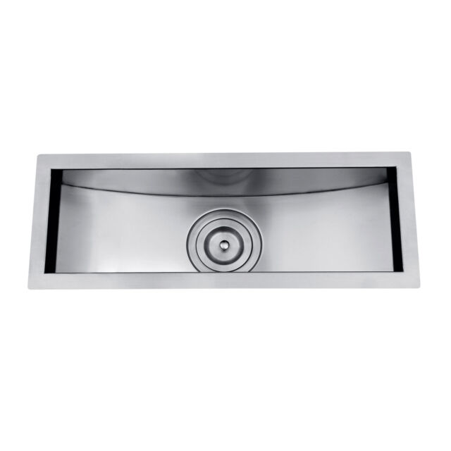 Z106 20 X 6 Single Bowl Stainless Steel Hand Made Undermount Bar