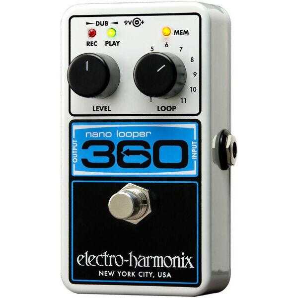 electro harmonix nanolooper360 looper guitar effect pedal for sale online ebay. Black Bedroom Furniture Sets. Home Design Ideas