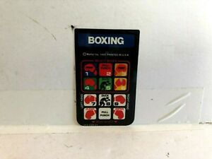 Atari-Boxing-Controller-Instruction-Card-1980-INSERT-ONLY-authentic-Original