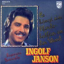 """7"""" INGOLF JANSON Es hängt ein Pferdehalfter an der Wand BRUCE LOW CARSON ROBISON"""