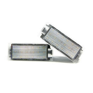 2-X-LED-Illuminazione-Targa-Renault-Targa-Lampada-Lampadina
